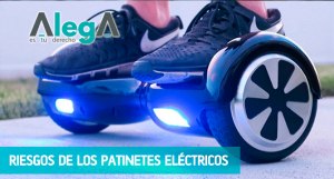 Riesgos de los patinetes eléctricos