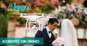 Indemnización accidente con drone